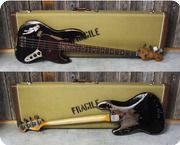 Fender Jazz Bass 63 Heavy Relic Lucy Clone 2019 Aged Black