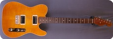 Real Guitars Custom Build T 2019 Translucent Amber