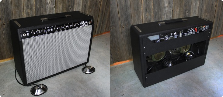 Monster Boutique Amps Hotel Hog / Early 60's Deluxe Style Platform 2019 Black
