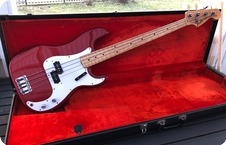 Fender Precision Bass 1971 Candy Apple Red