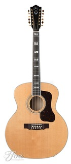 Guild F512e Maple Natural Lr Baggs