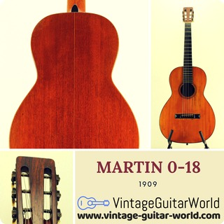 C. F. Martin & Co 0 18 1909