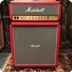 Marshall Vintage 1981 Marshall JCM800 Super Bass 100w Custom Red Stack