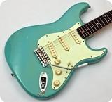 Rufini Fine Instruments Startocaster 62 2019 Daphne Blue Relic