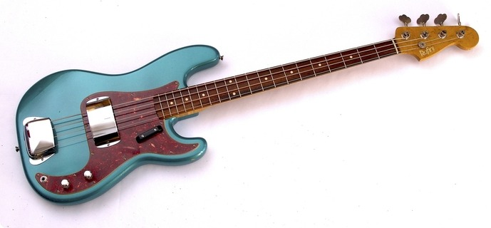 Rufini Fine Instruments Precision Bass '60  2018 Sherwood Green, Soft Aged