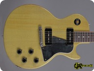 Gibson Les Paul Special TV Model 2007 TV Yellow Murphy Aged