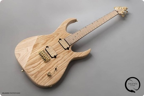 Valenti Guitars Callisto #025 2019 Natural
