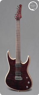 Valenti Guitars Nebula Blood Red
