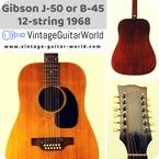 Gibson J 50 1968