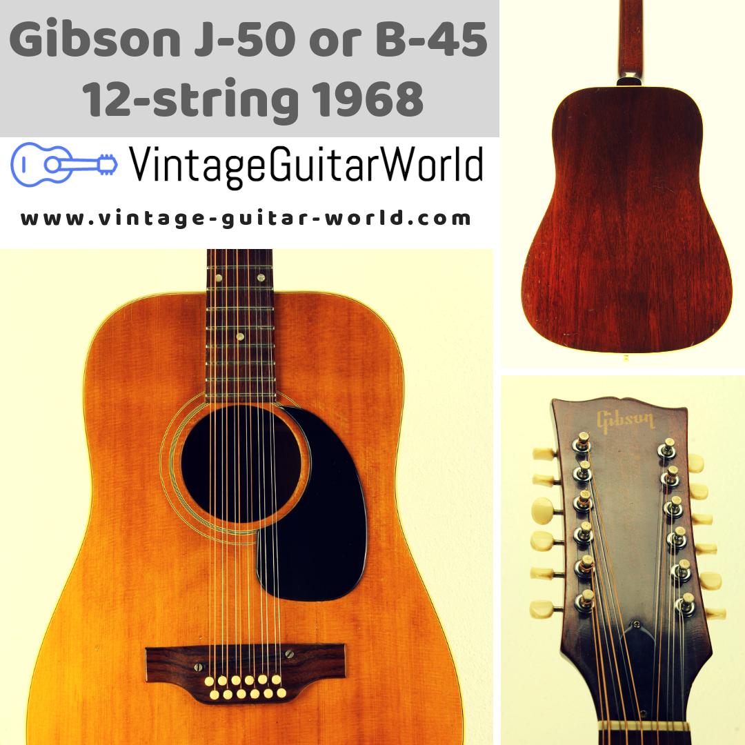 Gibson J 50 1968 Guitar For Sale Vintage Guitar World