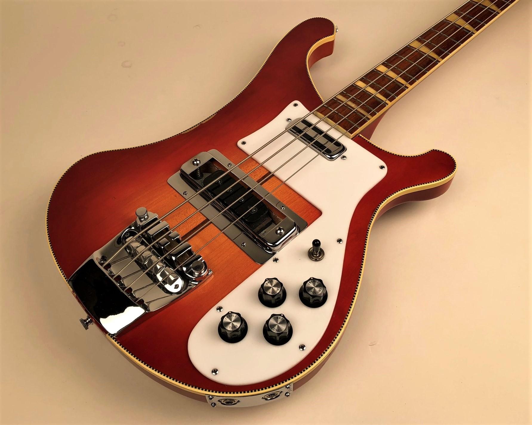 Rickenbacker 4001 1973 Fireglo Bass For Sale Guitars West