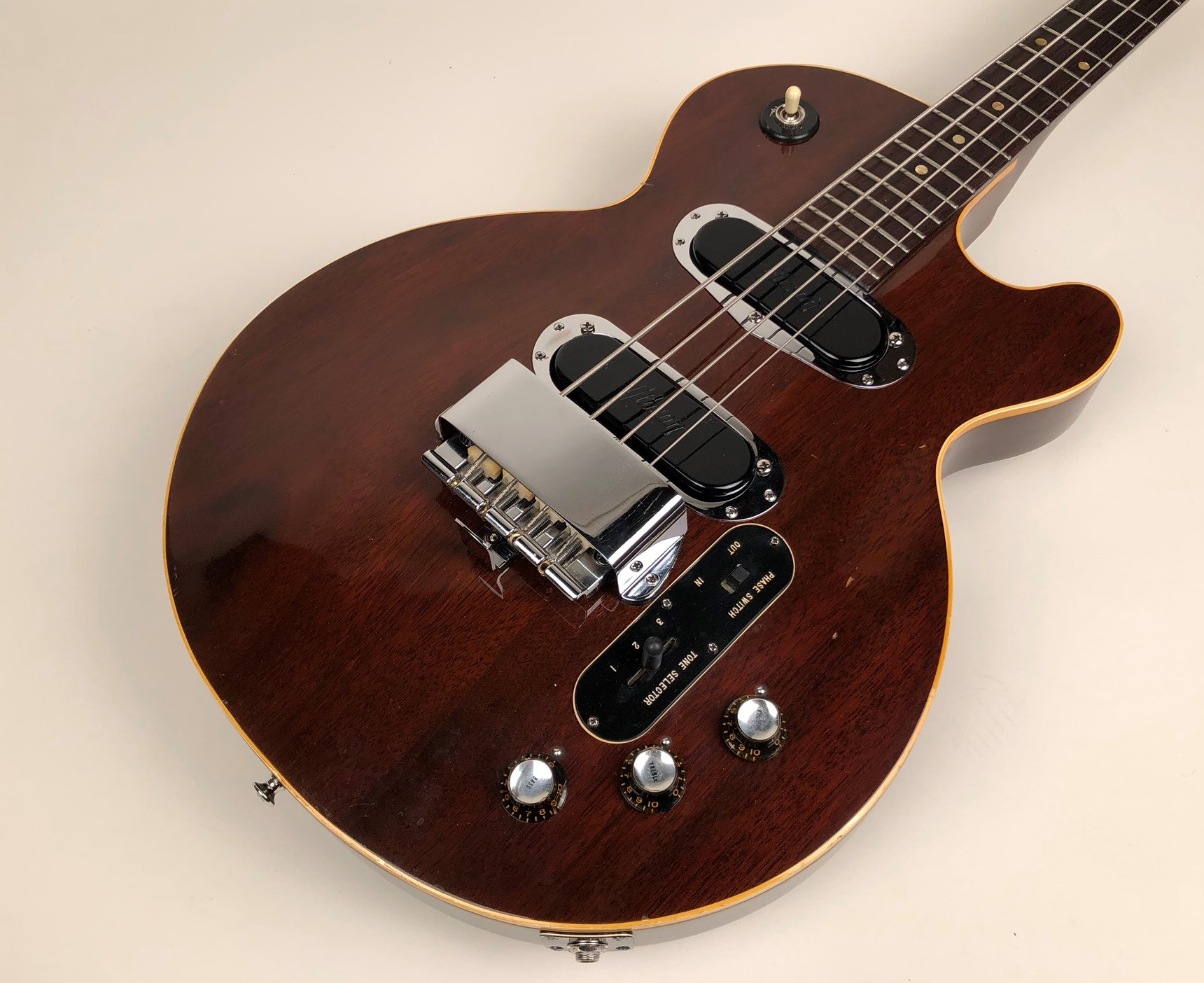 Gibson Les Paul 1968 Walnut Bass For Sale Guitars West