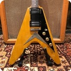 Ibanez Vintage 1977 Ibanez Rocket Roll Korina Flying V Japan Guitar