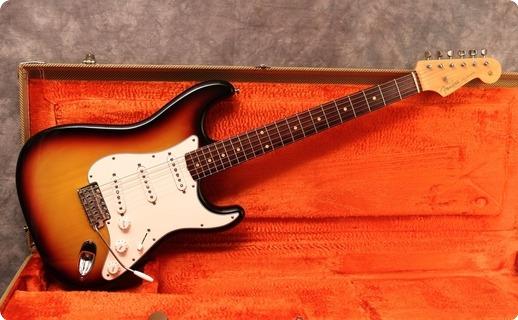 Fender Custom Shop '60 Stratocaster Nos 2001 Sunburst