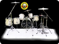 Tama Artstar II Guns And Roses 1986 Pearl White