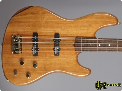 Fender Victor Bailey Jazz Bass 2002 Koa   Natural