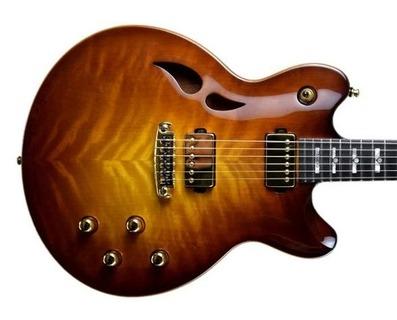 Taisto Guitars Arok Wg High Gloss Yellow Brown