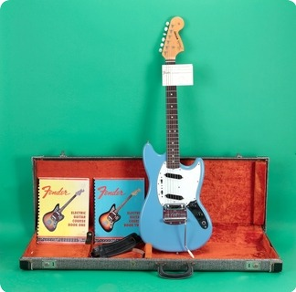 Fender Mustang 1966 Blue