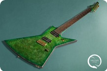 Valenti Guitars Explorer Custom