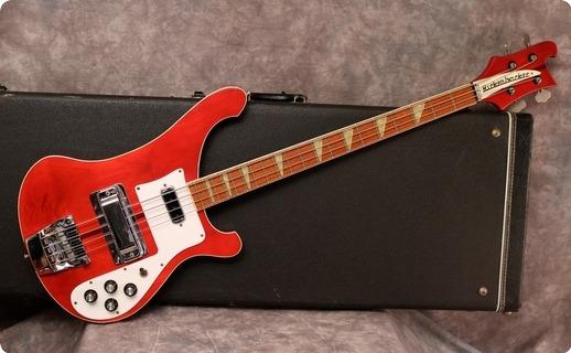 Rickenbacker 4001 1980 Burgundyglo
