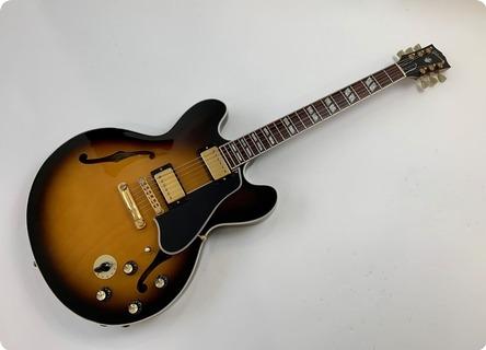 Gibson Es 345 Td Reissue B.b. King Signature Es 45 2002 Vintage Sunburst