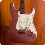 Fender-Stratocaster-1963-Burgundy Mist