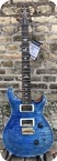 Paul Reed Smith Prs Custom 24 Wood Library 2018 Faded Blue Jean