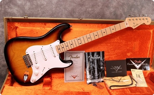 Fender Custom Shop '55 Stratocaster 2011 Sunburst