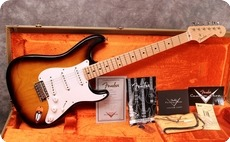 Fender-Custom Shop '55 Stratocaster-2011-Sunburst
