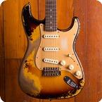 Fender Custom Shop Stratocaster 2019 Aged Vintage White