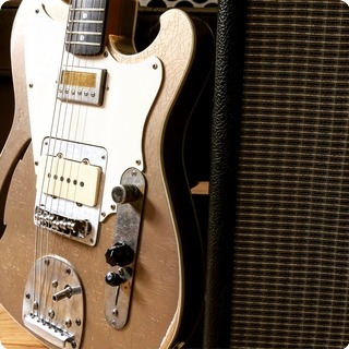 T.p.customs Guitars Tonemeister Type I 2016 Vintage Relic Shoreline Gold