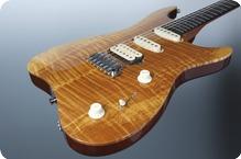 M.O.V. Guitars Viola SP22 T HSS Suntan Brown