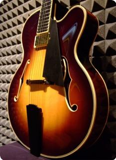 M.o.v. Guitars Viola Me Serie Dark Tea Sunburst