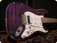 Sonnemo Guitars Custom Master ST Purple Flame