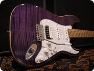 Sonnemo Guitars Custom Master ST Purple Flame
