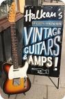 Fender-Telecaster Custom-1966-Sunburst