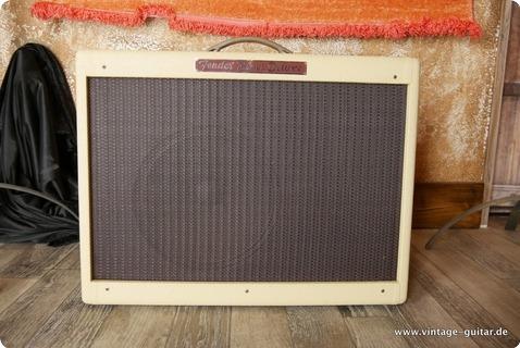 Fender Blues Deluxe White Tolex