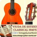 Viuda Y Sobrinos De Domingo Esteso 1a Signed 1945