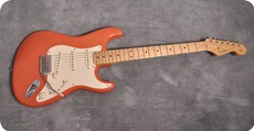 Fender-Stratocaster Custom Shop California Beach Edition-2004-Sunset Coral