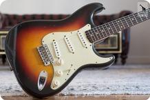 Fender Stratocaster Slab 1962 Sunburst