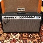 Fender-Vintage 1977 Fender Dual Showman Reverb Silverface Export Valve Amplifier
