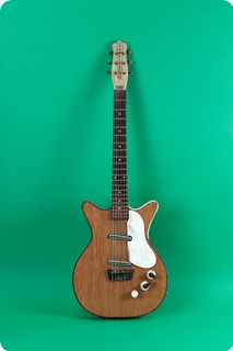 Danelectro Dc Model 6027 Deluxe 1961 Walnut