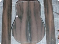Brazilian Rosewood Back Sides Set 1975 Exotic Dark