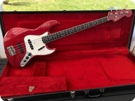 Fender Jazz Bass 1966 Candy Apple Red