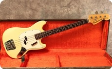 Fender Mustang 1974 Olympic White