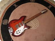 Rickenbacker Rose Morris 345k 1964 Dark Red Sunburst