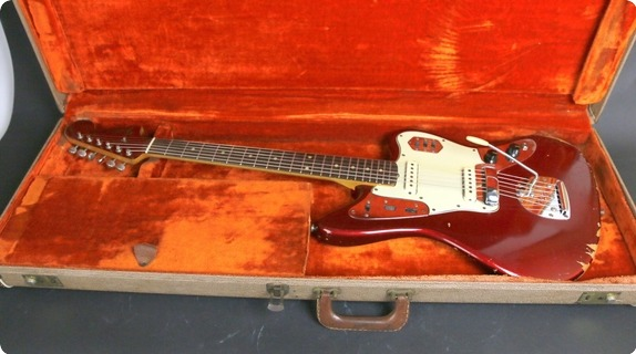 Fender Jaguar 1963 Candy Apple Red