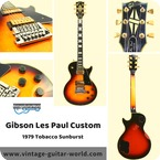 Gibson-Les Paul Custom-1979-Tobacco Sunburst