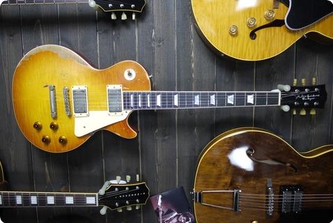Relic Guitar The Hague Lp59 Slash Burst 2018 Honey Burst