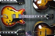 Guild Starfire IV 1973 3 Tone Sunburst